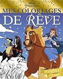 PRINCESSES - Mes coloriages de rêve - Poneys et Chevaux
