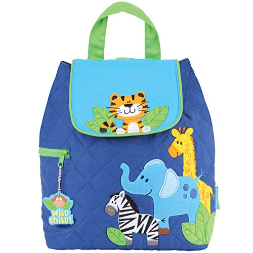 Stephen Joseph Quilted Backpack, Boy - Stephen Zoo Joseph