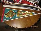 1997 Cleveland Indians vs Florida Marlins World Series pennant green