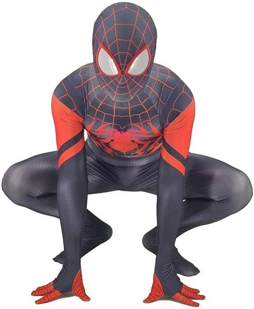 Disfraz De Spider Man para Adultos Juego De rol para El Hogar ...