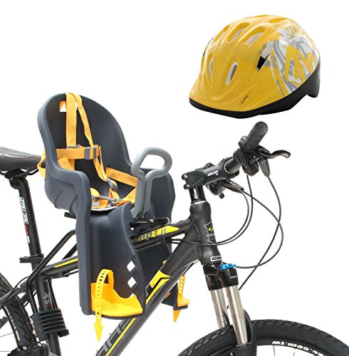 Bicycle Kids Child Children Toddler Front Mount Baby Carrier Seat Bike Carrier USA Safely Standard with Handrail and Helmets