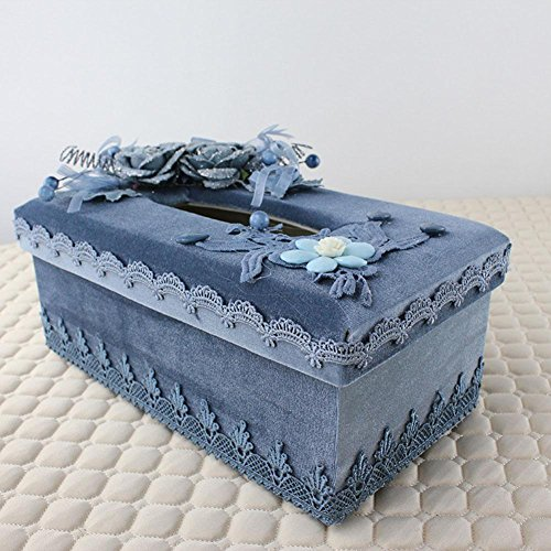 New Tissue Box Cover Paper Napkin Box Dispenser for Home Office Car Decor by YANXH home