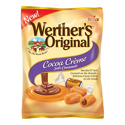 Mint Creme Chocolate (WERTHER'S ORIGINAL Cocoa Crème Soft Caramels, Individually Wrapped Candy, 4.51 Ounce Bag (Pack of 12))