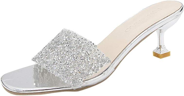 WINJIN Chaussures femme Femme Ete Sandales, Tongs Femme