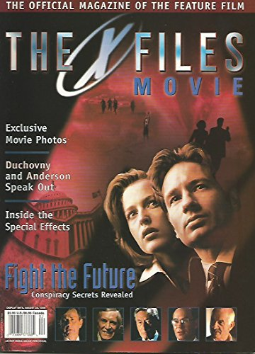 Used, The X-Files The Official Magazine of The Feature Film for sale  Delivered anywhere in USA