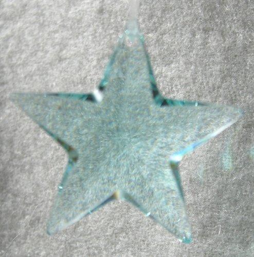 - Swarovski 28mm Antique Green Crystal Star Prism