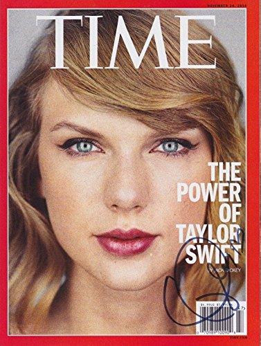 Taylor Swift signed TIME magazine