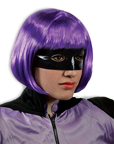 Hit Girl And Kickass Costume (Kick-Ass 2 Hit Girl Purple Wig)