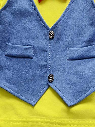 Pantalones Caballero Ropa Trajes BHYDRY Ni/ñIto Ni/ños Beb/é Chico Conjuntos Manga Corta Camiseta