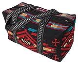 Southwest Shoulder Tote Duffel Bag . Beautiful Geometric Patterns in Vivid Colors G