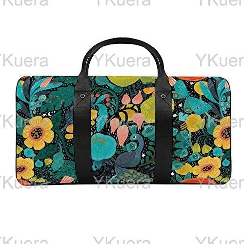 ボヘミアン大規模1 旅行バッグナイロンハンドバッグ大容量軽量多機能荷物ポーチフィットネスバッグユニセックス旅行ビジネス通勤旅行スーツケースポーチ収納バッグ