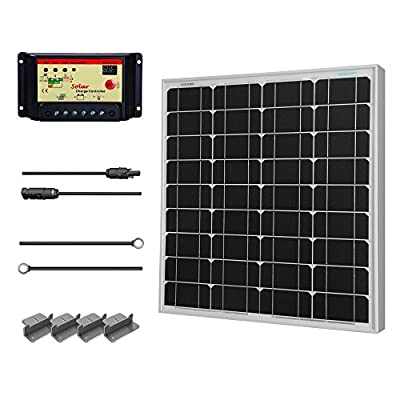 Best Cheap Deal for Renogy 50 Watt 12 Volt Monocrystalline Solar Bundle Kit by Renogy - Free 2 Day Shipping Available