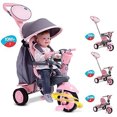 smarTrike Swing 4-in-1 Baby Trike Pink: Toys & Games