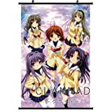 1 X Anime World Japanese Anime Style CLANNAD Wall Scroll Poster (24''*35)support Customized by WUKE