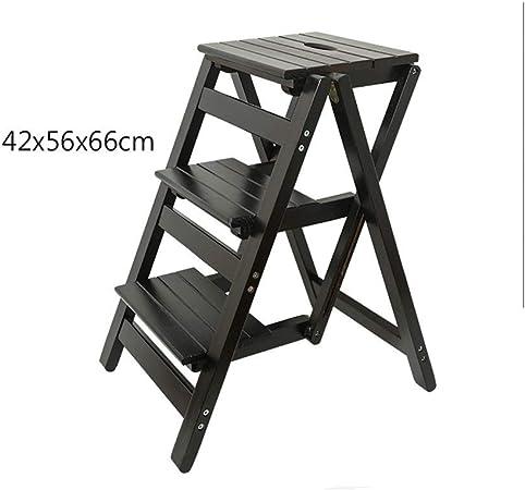 SGMYMX Escalera Pasos prácticos de Madera Escalera de 3 escalones Taburete de Cocina Herramientas de jardinería caseras Escalera (Color : 3): Amazon.es: Hogar