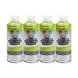 Bulk buy: Tulip ColorShot Outdoor Upholstery Spray Paint 8 oz. 4-pack, Kiwi