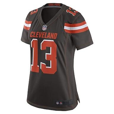 san francisco 5bde3 8d5a6 Amazon.com: #13 Odell Beckham Jr Cleveland Browns Women's ...