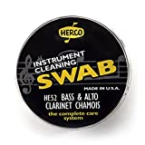 Herco HE52 Bass and Alto Clarinet Swab Synthetic Chamois Cloth