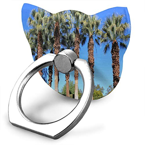 Cell Phone Holder Our First Family Trip to Palm Springs Ring Phone Holder Adjustable 360°Rotation Phone Stand IPad, Kindle, Phone Galaxy S9/S9 Plus/S8/S7, Divi,Android Smartphone