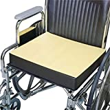 Physical Therapy Aids 081226810 Comfort Foam Wheelchair Cushion, 18''x 16''x 4''