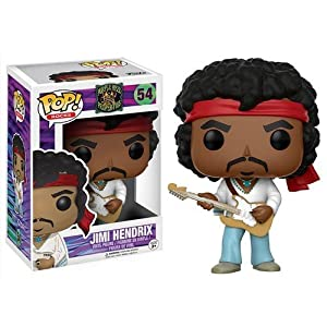 Funko Pop Rocks: Music - Jimi Hendrix Woodstock Toy Figure 5