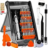 Drone Repair Parts - Jetfix Precision IT Screwdriver Set + Magnetic & Auto-Stand kit - Drone/Computer/Watch/Cell Phone/PC/Laptop/Glasses/iPad/iMac/Macbook/iPhone/Tablet/Jewellers/DJI for Office & Home - 57pc
