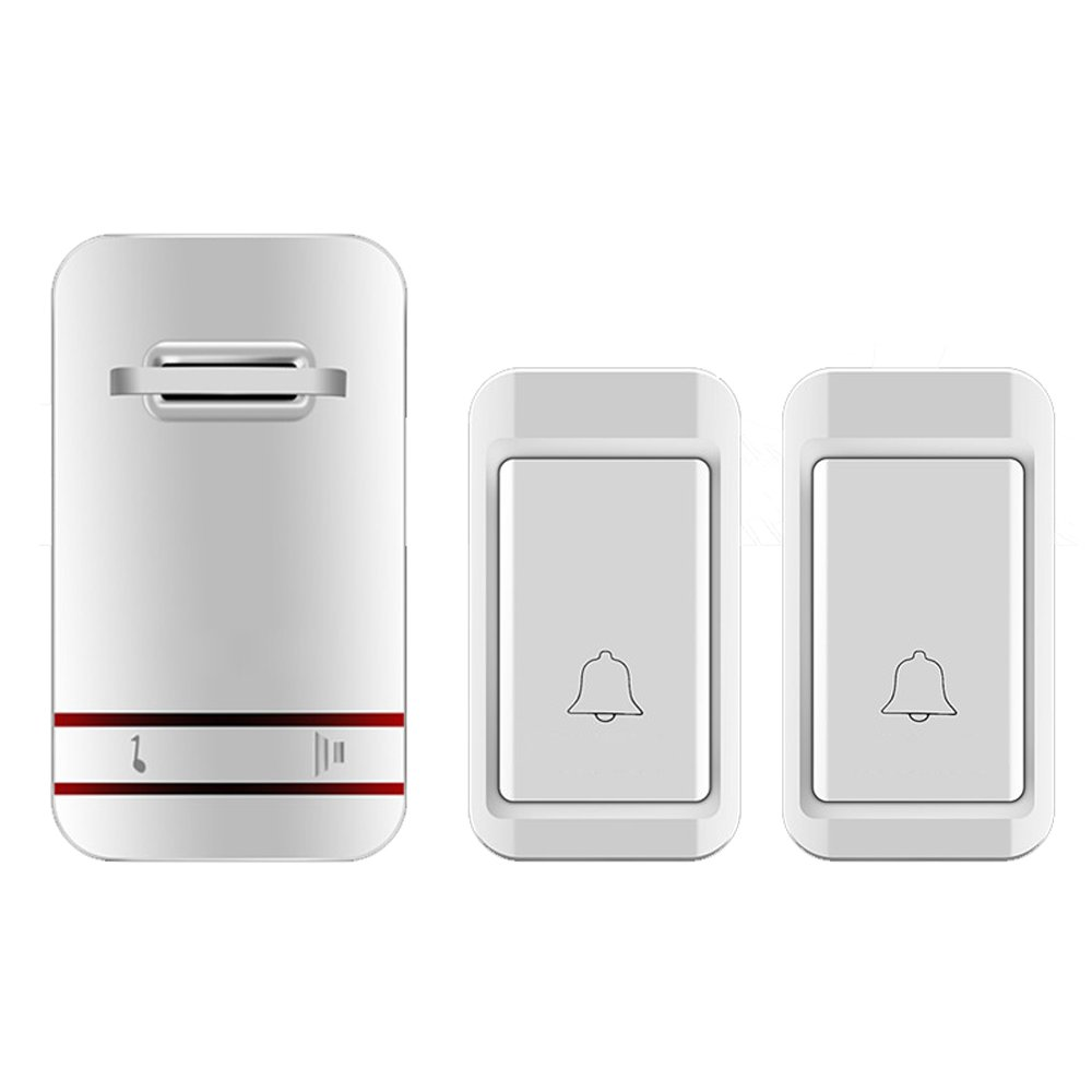 MUTANG Self-Generating Powered Wireless Doorbell Kit No Battery Required Weatherproof Electric Door Chime Multiple Choices (Color : D)