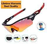 Polarized Sports Sunglasses For Men Women Youth Case Cycling Glasses Baseball Running Fishing