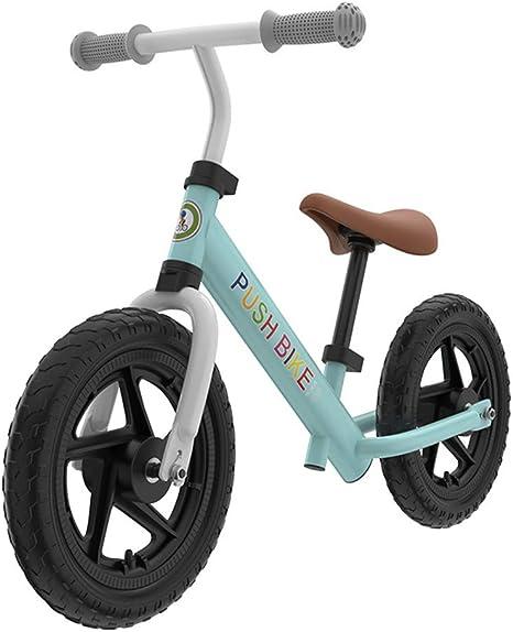 ABYYLH Bicicleta Infantil de Equilibrio sin Pedales Bike 2~6 Años Niños Balance Bike,Green: Amazon.es: Deportes y aire libre