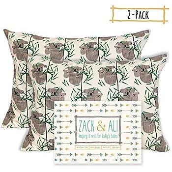 Amazon Com Zack Amp Ali Organic Toddler Pillowcase 13x18 2