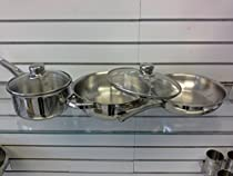 Stainless Steel Cookware Set 5 Pc Dsis (36)