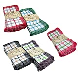 Better Home 24-pack Dish Cloths, Colors May Vary, 12x12 Inch