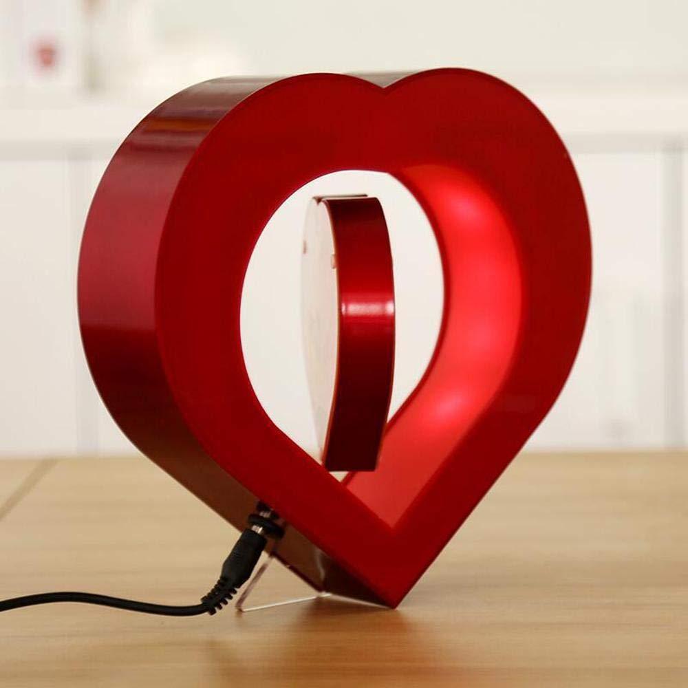 HUALQ Marco de Fotos Levitación Magnética Creativa Amor En Forma De Corazón Marco De La Foto Amante De Cumpleaños Decoración De Regalo: Amazon.es: Hogar