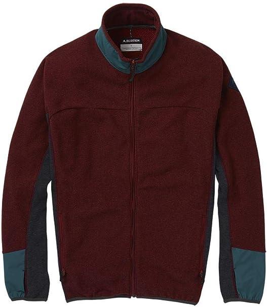 Burton Herren Fleecejacke Minturn Full Zip Fleece Jacket