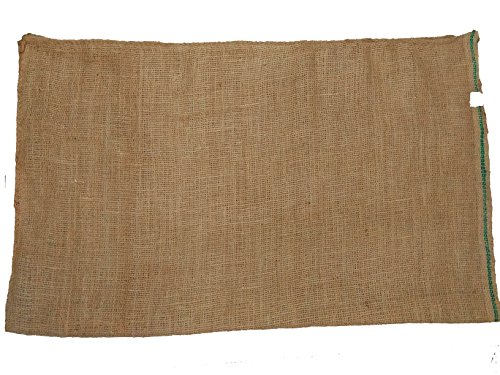 (AAYU Eco-Friendly Disposable Wire Basket Burlap Liner | Hanging Planter Jute Liner | Double Layer | Food Grade Burlap | 40 x 40 Inch | Outdoor Root Ball Burlapping | Landscape Accessories)