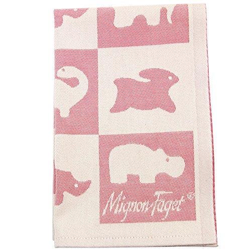 Mignon Faget Animal Cracker Cotton Baby Burp Cloth ()