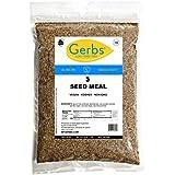 Ground Pumpkin, Sunflower, Chia, Flax, Hemp Seed Meal, 2 LBS By Gerbs - Top 12 Food Allergy Free & NON GMO - Vegan & Kosher – Premium Full Oil Content Protein Powder