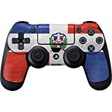 Countries of the World PS4 Controller Skin – Dominican Republic Flag Distressed