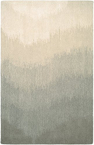 -Natural Collection Round Neutral Ombre Rug, 2'2