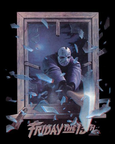 Friday the 13th Part III 3 3D - Movie Poster  24x36