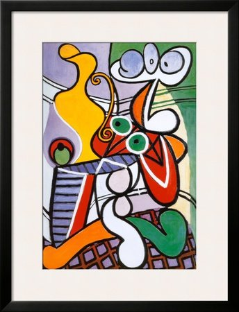 Nude and Still Life, c.1931 Framed Art Poster Print by Pablo Picasso, 27x35
