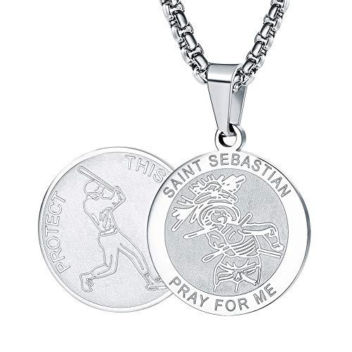 Wolentty Saint Sebastian Necklace - 1
