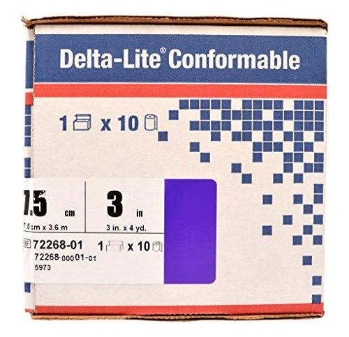 BSN Medical 5973 Delta-Lite Conformable Fiberglass Cast Tape, 3