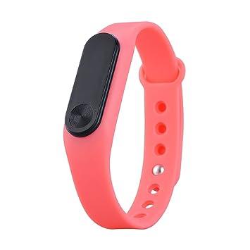 YiRong® Bluetooth 4.0 fitness Tracker, IP65 impermeable inteligente Reloj con monitor de frecuencia cardíaca, podómetro, contador de calorías para ...