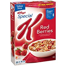 Special K Cereal, Red Berries, 14.7 oz
