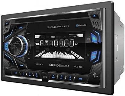 NEW SOUNDSTREAM CAR STEREO RADIO /& BLUETOOTH W//AUX NO CD PLAYER W// INSTALL KIT