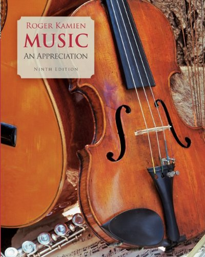 Music An Appreciation - 5 Audio CD Set by Brand: McGraw-Hill Humanities/Social Sciences/Languages