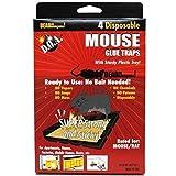 Comixpro Lot Of 4 Mice Mouse Sticky Glue Traps Trays