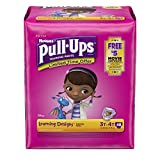 Pull-Ups Learning Designs Training Pants for Girls, 3T-4T, 48 Count
