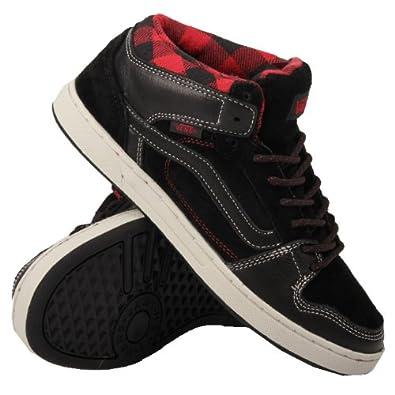 e9f8d23139 Vans Edgemont Weather Black Red 49  Amazon.co.uk  Shoes   Bags